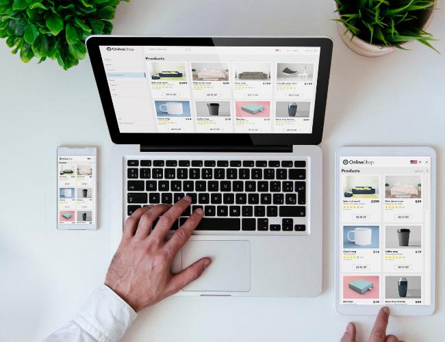 e-commerce websites design